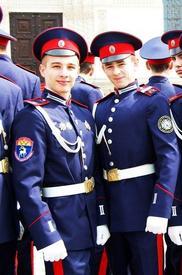 Кадеты Евгений Киляков и Алексей Стоценко