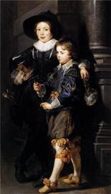 Рубенс. Портрет Альберта и Николаса, детей художника. 1626г.
