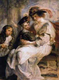 Рубенс. Елена с Кларой Иоанной и Франциском. 1635−1636 гг.