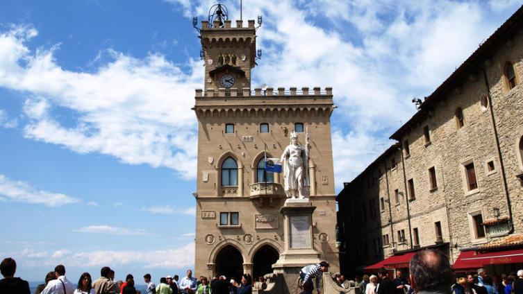 Главная площадь Сан-Марино