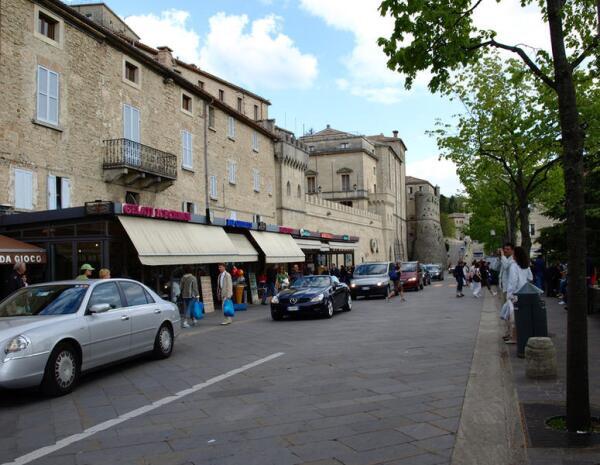 Улицы Сан-Марино