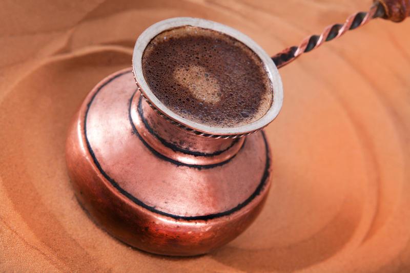 как приготовить кофе в турке по турецки на писке
