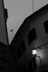 Вечер в старом городе, Медулин