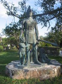 Памятник Гонсало Герреро