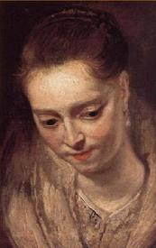 Рубенс. Портрет женщины. Мusee des Beaux Arts Marselles, Provence, France.