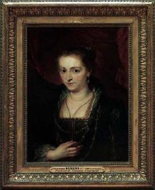Рубенс. Портрет Сусанны Фоурмент. 1620 год. 53х71 см. Лувр, Париж, Франция