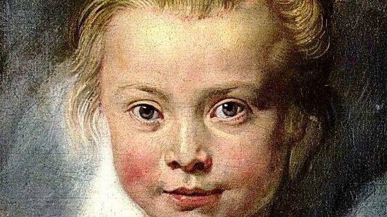 Рубенс. Портрет Клары Серены Рубенс.1616 г. (фрагмент)