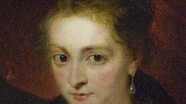 Рубенс. Портрет Елены Фоурмент. 1630, 186х85 см, Museu Calouste Gulbenkian, Lisbon, Португалия. Фрагмент