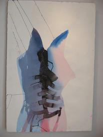 Эса Мелтаус (Рованиеми)/ Шкура II. 2009. Бумага, акварель