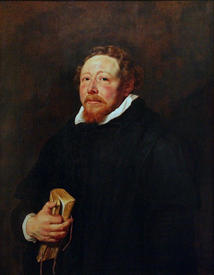 Рубенс. Портрет отца Яна Нейена, 1611 год, 95х74 см