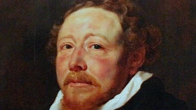 Рубенс. Портрет отца Яна Нейена, 1611 год, 95х74 см. Фрагмент