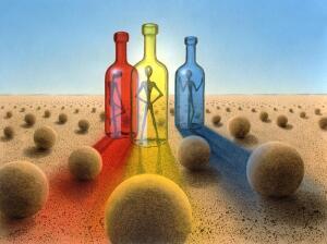 «Colors&Bottles»: как выпить живописно?