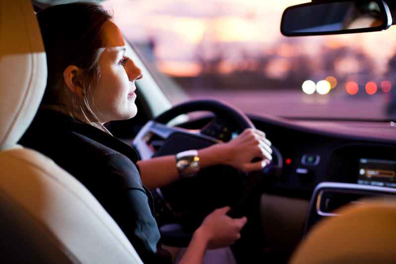 Фото за рулём автомобиля