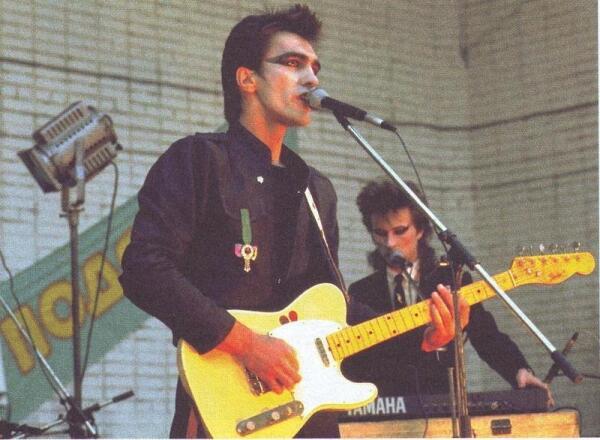 НАУТИЛУС на рок-фестивале в Подольске в 1987 г.