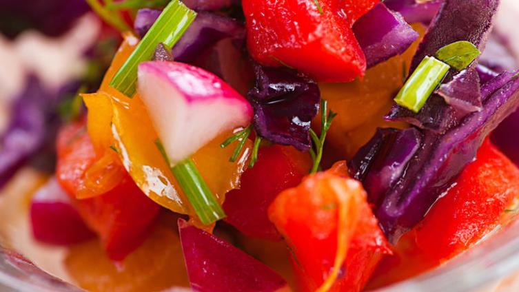 Один салат на любой вкус? «Козел в огороде»!