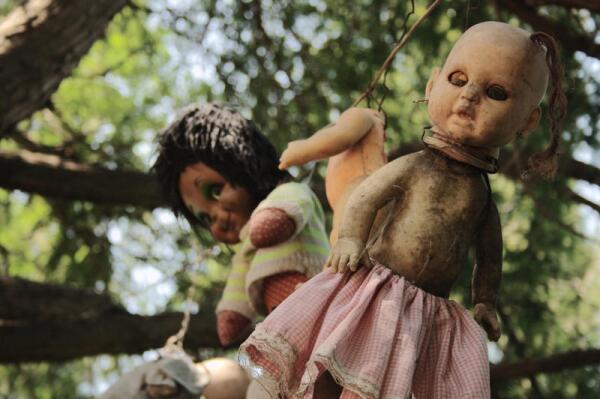 Остров мертвых кукол, Мексика, Хочимилько