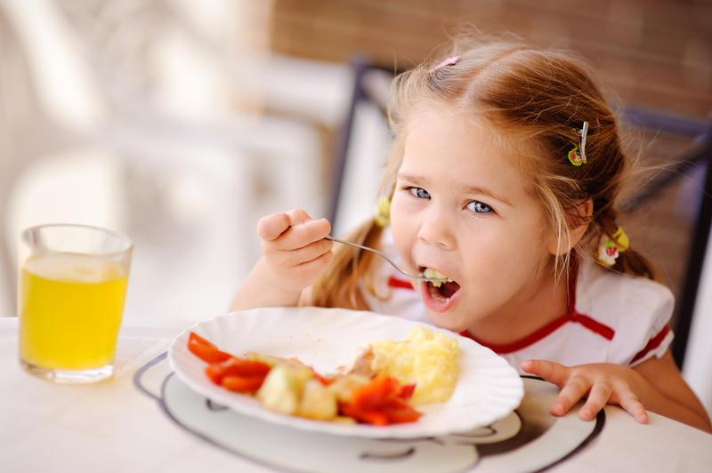 Обеды для детей фото