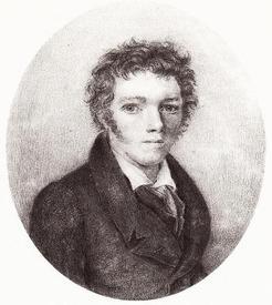 Вильгельм Гауф в 1826 году.