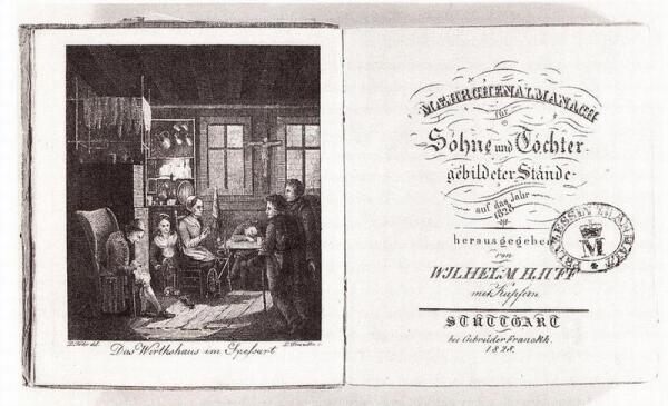 «Альманах сказок на 1828 год для сыновей и дочерей образованных сословий» увидел свет уже после смерти автора