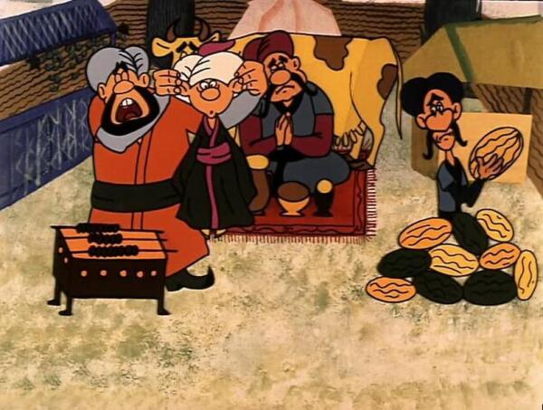 Очень смешной советский мультик был снят про Маленького Мука