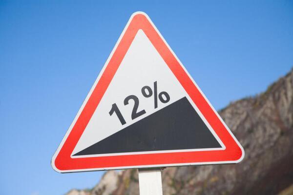 Проценты на дорожном знаке - важное предупреждение?