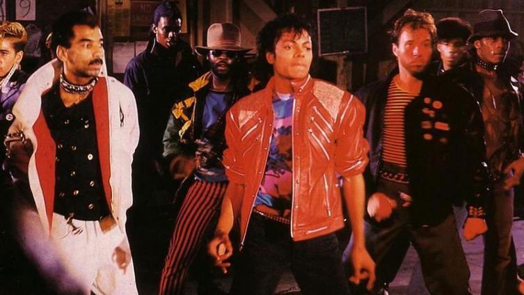 Кадр из клипа «Beat It»