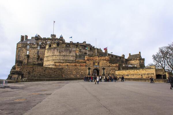 Эдинбургский замок, эспланада