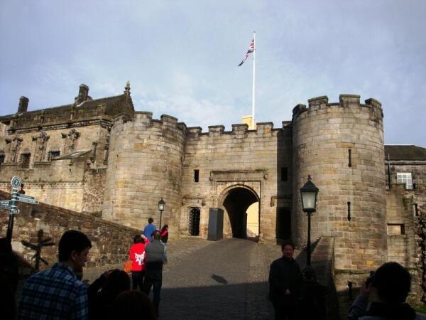 Замок Стёрлинг. Ворота.