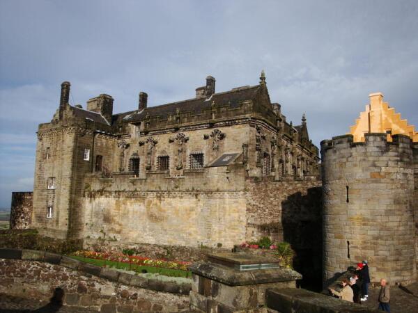 Замок Стёрлинг. Дворец.
