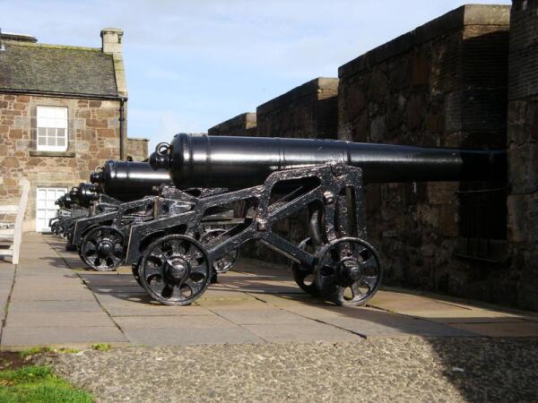 Замок Стёрлинг. Пушки