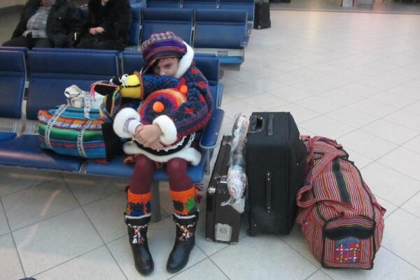 Пулково-2, утро 28-го ноября. В ожидании рейса Санкт-Петербург-Франкфурт
