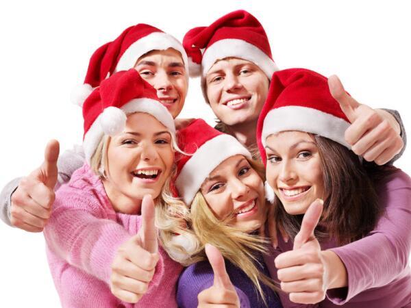 Как компании подростков развлекаться в Новый год?