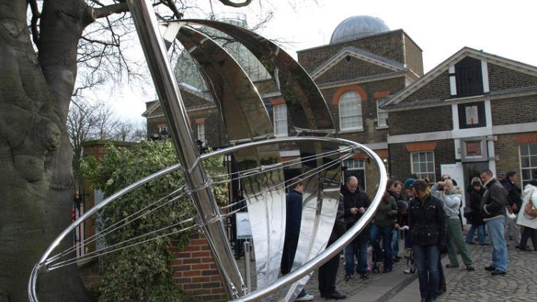 Нулевой меридиан в Гринвиче