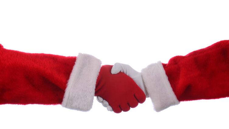 Как Дед Мороз встречался с Сантой-Клаусом? 18+