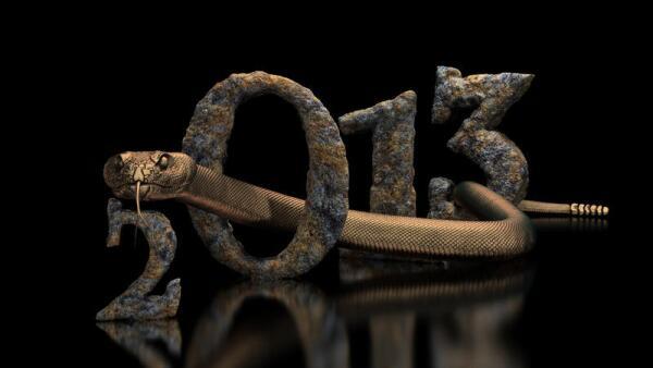 Как россиянам правильно встречать Новый год 2013 - год Змеи?