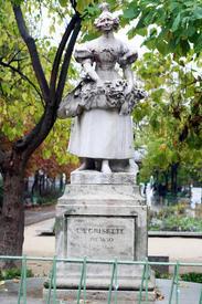 Памятник гризетке в Париже