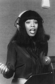 Донна Саммер в студии. 1977 год