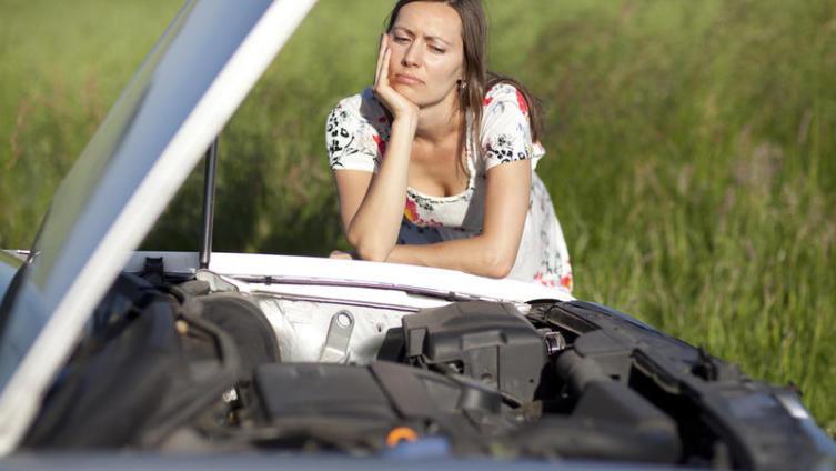 Как муж учил меня водить машину?