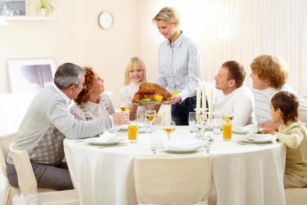 Как подаются блюда к праздничному столу? Правила этикета
