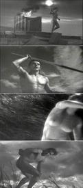 Кадры из клипа «Stripped».