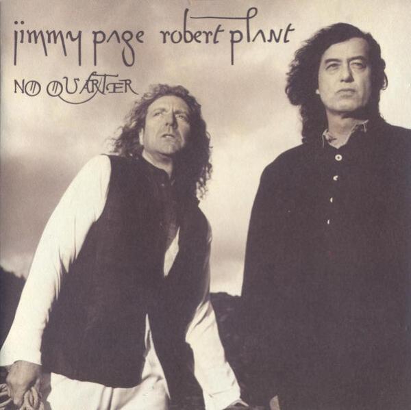 Обложка акустического альбома Пейджа и Планта 1994 года