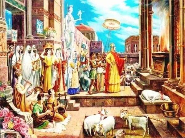 Император Великой Армении Тигран Второй.
