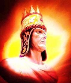 Император Великой Армении Тигран II Великий.
