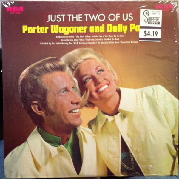 Долли Партон с Портером Вагонером.
