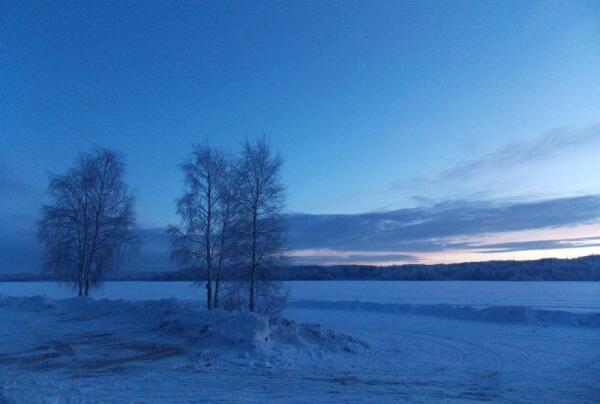 Зима в Карелии, или Кто привез в Пряжу праздник?