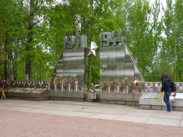 Ещё один, новый памятник павшим на Синявинских высотах