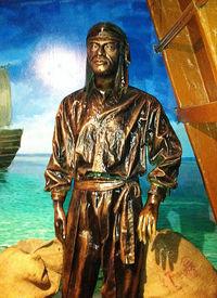 Энрике де Малака (скульптура в музее Малакки, Малайзия)