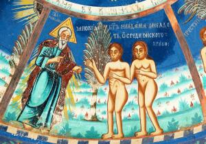 Почему рисовали пупок у Адама и Евы?