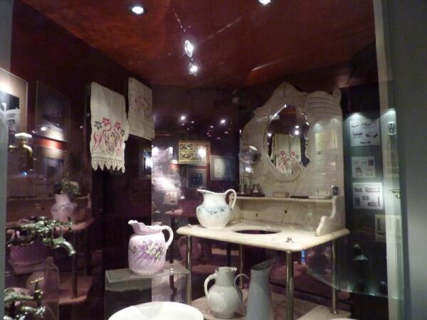 Экспонаты музея в водонапорной башне