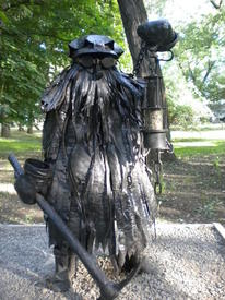 Элемент Парка кованых фигур. Шубин